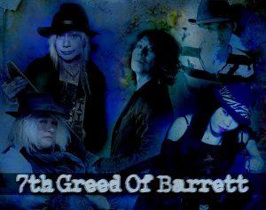 7th Greed Of  Barrettワンマンライブ @ 方南町Mdining